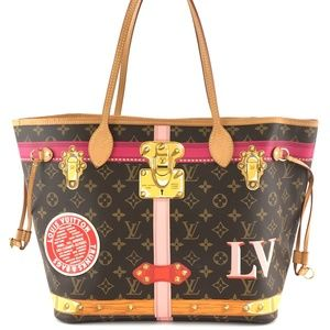 Neverfull Monogram Canvas Shoulder Bag